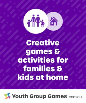 Fun At-Home Family Games + Activities