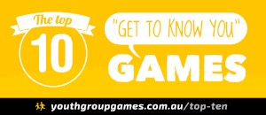 Top ten get to know you games