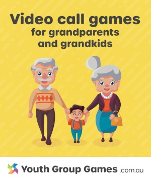Video call games for grandparents and kids